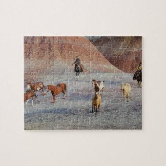 Vaqueros 3 puzzle con fotos