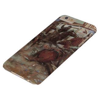 Vaqueros del vintage, adentro sin golpear por cm funda barely there iPhone 6 plus