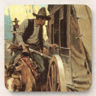 Vaqueros del vintage, el proscrito admirable por posavasos