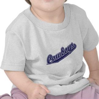 Vaqueros en Blue1 de encargo Camiseta