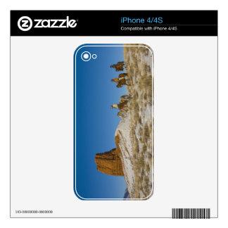 Vaqueros en caballo de montar a caballo de Ridge a Skins Para iPhone 4