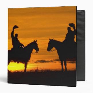 """Vaqueros en canto en la puesta del sol carpeta 1 1/2"""""""