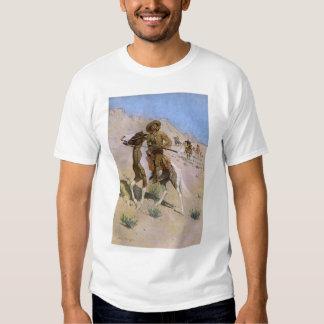 Vaqueros militares del vintage, el explorador por polera