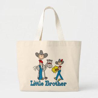 Vaqueros pequeño Brother del palillo Bolsa Tela Grande