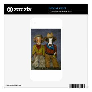 Vaqueros reales skin para el iPhone 4