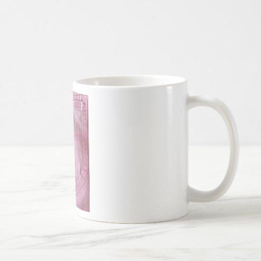 Vaqueros realmente rosados taza de café