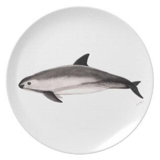 Vaquita Melamine Plate