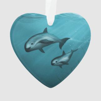 Vaquita Porpoises Ornament