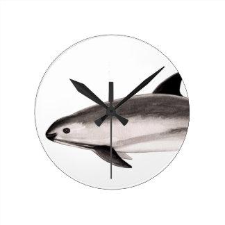 Vaquita Round Clock