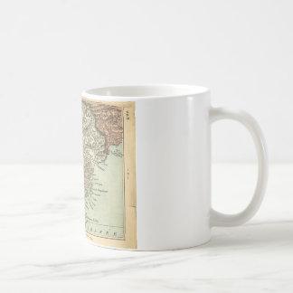 Var region, French map 1860 Coffee Mug