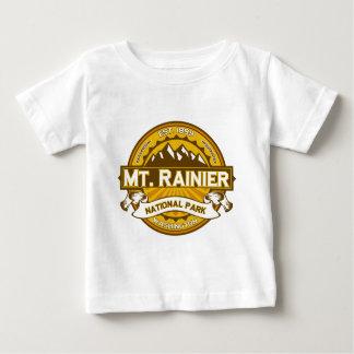 Vara de oro del Monte Rainier Playera De Bebé
