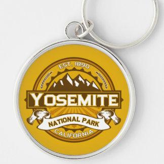 Vara de oro del parque nacional de Yosemite Llavero Personalizado