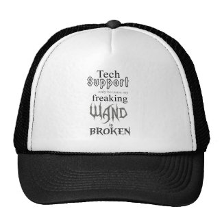 Vara del soporte técnico gorras