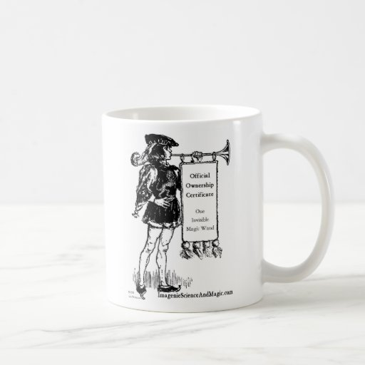 vara mágica invisible tazas de café