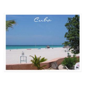 varadero beach cuba postcard