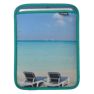 Varadero, Cuba. Sand And Beach Chairs iPad Sleeve