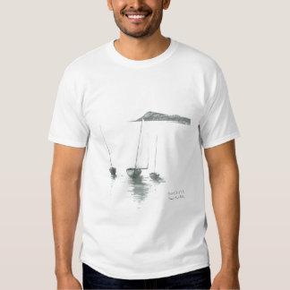 Varado, islas de Scilly - logotipo delantero Remeras