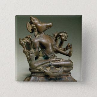 Varaha, Gurjara Pratihara, Tamil Nadu (bronze) Pinback Button