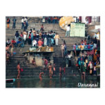 Varanasi ghats, postcard