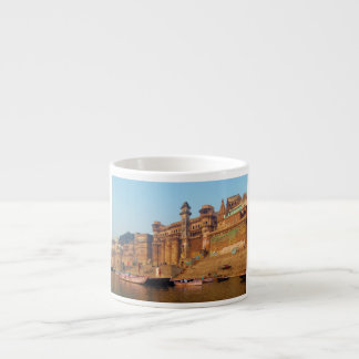 Varanasi India As Seen From Ganga River Espresso Cup