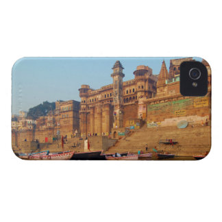 Varanasi India As Seen From Ganga River iPhone 4 Case-Mate Case