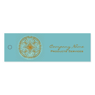 Varanasi - Merchandise Price Tag Double-Sided Mini Business Cards (Pack Of 20)
