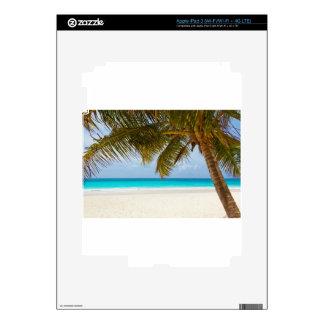 vare el mar tropical de la arena de la isla del iPad 3 pegatinas skins
