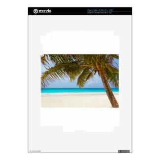 vare el mar tropical de la arena de la isla del skin para el iPad 2