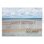 Vare la 65.a tarjeta de cumpleaños de la escena co