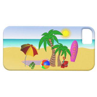 Vare la cebada del iPhone 5 de la resaca del mar Funda Para iPhone SE/5/5s