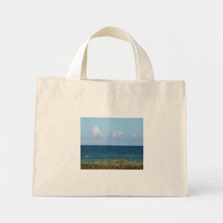 Vare la duna con agua azul y el cielo, la Florida Bolsas De Mano