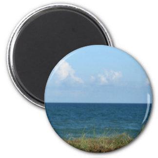 Vare la duna con agua azul y el cielo, la Florida Imán Para Frigorifico