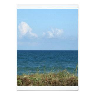 Vare la duna con agua azul y el cielo, la Florida Invitación