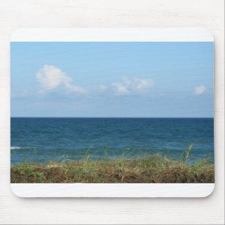 Vare la duna con agua azul y el cielo, la Florida Tapete De Ratón