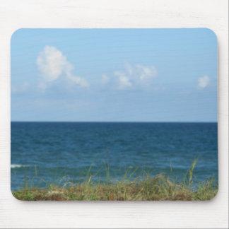 Vare la duna con agua azul y el cielo, la Florida Alfombrilla De Raton