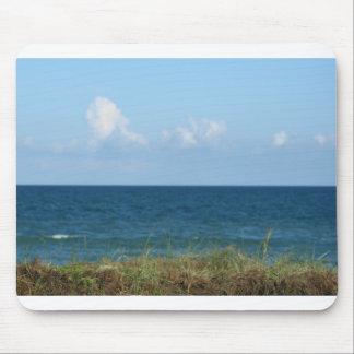 Vare la duna con agua azul y el cielo, la Florida Alfombrilla De Ratón