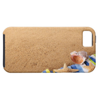Vare la frontera de la esquina con la toalla, funda para iPhone SE/5/5s