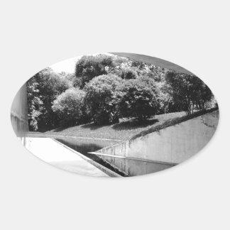 Varejão Gallery Oval Sticker