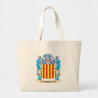 Varela Coat of Arms - Family Crest Canvas Bag