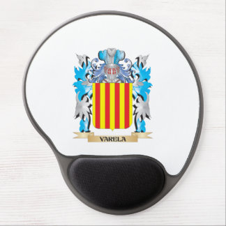 Varela Coat of Arms - Family Crest Gel Mouse Pad