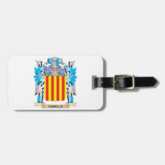 Varela Coat of Arms - Family Crest Travel Bag Tags