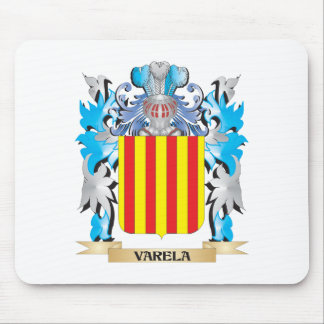 Varela Coat of Arms - Family Crest Mouse Pad