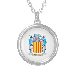 Varela Coat of Arms - Family Crest Custom Necklace