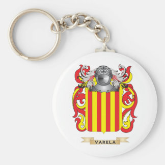 Varela Family Crest (Coat of Arms) Keychain
