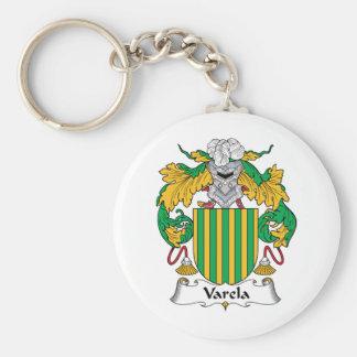 Varela Family Crest Keychain