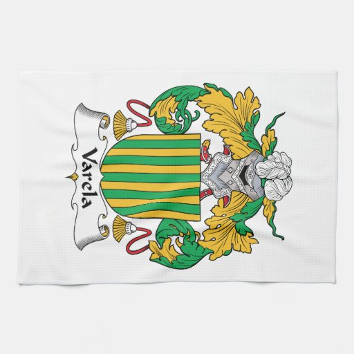 Varela Family Crest Towel
