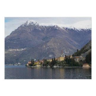 Varenna Italia, lago Como Póster