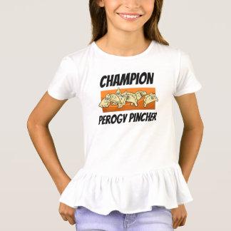 Varenyky Perogy Pincher Champion Ruffle Shirt