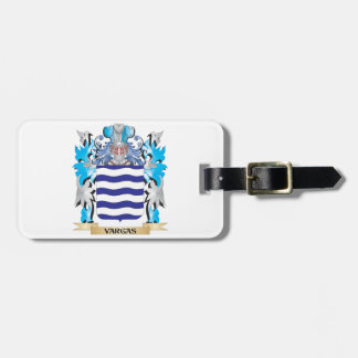 Vargas Coat of Arms - Family Crest Tags For Bags