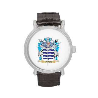 Vargas Coat of Arms - Family Crest Wristwatches